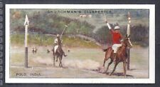 CHURCHMAN-SPORTS & GAMES IN MANY LANDS-#12- POLO - INDIA