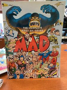 THE COMPLETE FIRST SIX ISSUES OF MAD SOFT COVER 1983