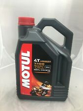 MOTUL 7100 RACING ROAD TRACK 15w50 MOTORCYCLE OIL 4L 1GALLON SYNTHETIC 104299