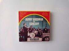 Castle Films No.2001 Benny Goodman in Concert Super 8mm Film (B&W), Band Music
