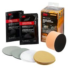 3M™ Headlight Restoration Kit, NO DRILL REQUIRED - 39084
