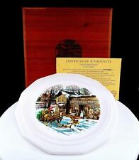 """JON HUNTER """"THE GENERAL STORE"""" #2982 10 1/2"""" PLATE W/ BOX AND C.O.A. 1981-82"""