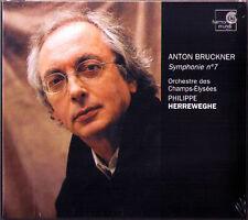 Philippe HERREWEGHE: BRUCKNER Symphony No.7 Champs Elysées CD Harmonia Mundi NEU