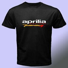 Aprilia Tuono  Racing  logo Black t shirt S - 2XL KTM Yamaha Honda