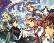 Sword Art Online 2 Poster Japanese Anime Manga Wall Art Print Decor 16x20 inches