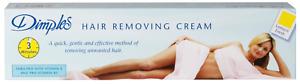Dimples Hair Removal Cream | Lemon Fresh Fragrance | 100ml | SALE