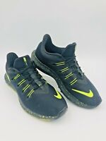 NIKE Quest HV Running Shoes Men's Size 9.5 NEON GREEN BLACK  #BV6109-002