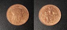 IIIème République - 5 centimes Daniel Dupuis 1916 étoile - F.119/29