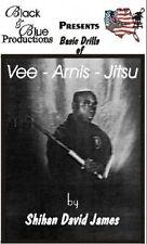 David James Vee Arnis Jitsu Dvd #5 closing distance gun knife stick defense kali