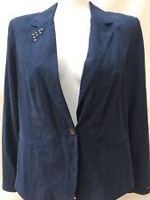 Tommy Hilfiger Women's Evy Jacket Blazer Navy Blue XL