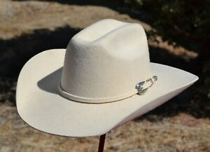 Alamo Hat Co 3X Elburn Kids/Youth Felt Cowboy Hat (6 1/8 - 6 7/8) Buckskin