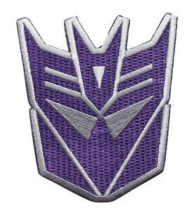 The Transformers Embroidered Iron On Patch - Officially Licensed  137-H