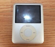 *For Parts* Genuine Apple (A1236) 8Gb Silver iPod Nano 3rd Generation *Read*