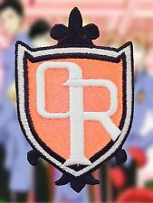 Ouran High School Host Club Cosplay Anime Embroidered Iron-on Patch