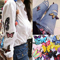 6-10pcs Embroidered Iron on Patch Applique Sewn Embroidery For Clothing Bag DIY