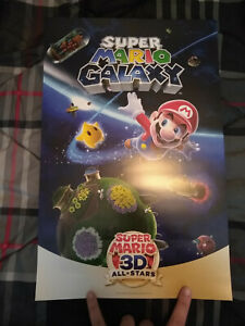 "Super Mario 3D All-Stars ""Super Mario Galaxy"" Poster (My Nintendo Rewards)"