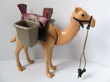 Playmobil égyptien/African Safari/Zoo/Nativité Animal: camel & sacoches de selle NEUF
