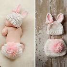 Baby-Mädchen Häkelarbeitknit Kostüm-Baby Fotografie Prop Outfits
