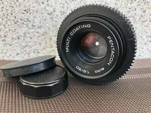 PENTACON lens auto 1.8/50 M42 MULTI COATING for DSL/SLR camera Canon Sony Nex