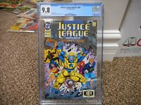 Justice League of America 80 cgc 9.8 1st appearance of new Booster Gold DC 1993