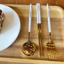 Starbucks Coffee Mug Spoon Fork Chopsticks Set Kitchen Tableware Limited Edition