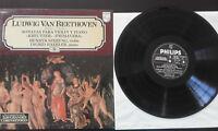 Beethoven Kreutzer Primavera LP Vinyl VG + Spanisch Ed Philips