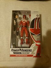 Hasbro Action Figure Power Rangers Time Force Red Ranger 6? NIB