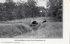 Old Stone Bridge Over Conoy Creek in Elizabethtown Pa 1908