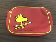 Rare Woodstock 1965 School Bag United Feature Syndicate, Inc Snoopy