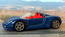 PORSCHE 918 SPYDER 1:61 (Met. Blue) Majorette MIP Passenger Diecast Sports Car