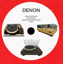 Denon audio video hi-fi Service manuals Schematics dvd 2 of 2 in pdf format