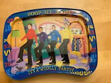 The Wiggles Hoop-De-Doo It's A Wiggly Party Metal Lap Tray Kidztrays 2004