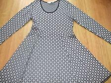 BODEN GREAT NAVY GLAMOROUS KNITTED DRESS SIZE 12 REG BNWOT
