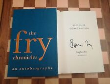 The Fry Chronicles SIGNED Slipcased Stephen Fry Limited Edition An Autobiography