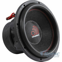 Massive Audio Pro Car Audio Sound SummoXL124 12 Inch Dual 4 Ohm 3000W Subwoofer