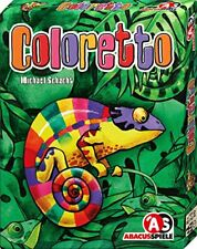 Abacus Spiele 08132 Coloretto Anniversary Edition Card Game