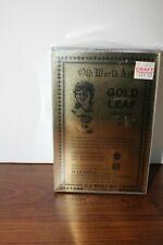 Old World Antique Imitation Gold Leaf Kit