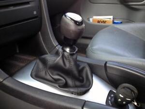 Bolsa de Palanca de Cambios Saab 9 3 Sport Sedan Cuero Negro
