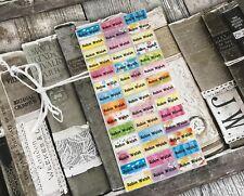 School Name Labels, name labels, Custom Labels, Waterproof, Scenic Pattern,