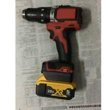 For Dewalt 18V/20V max Battery Adapter convert to for Milwaukee M18 18V tool NEW