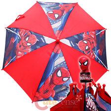 Marvel Spiderman Kids Umbrella Ultimate Spider Man 3D Figure Handle - Sling Web