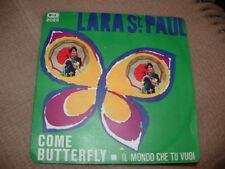 """LARA ST.PAUL """" COME BUTTERFLY """"DISCO PER L'ESTATE'68  ITALY'68"""