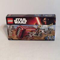 LEGO Star Wars Rey's Speeder Set 75099 - Used Complete +Box + instructions