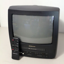 """Emerson EWC1304 13"""" Color CRT TV/VCR Combo Television VCR VHS Player 100% Works"""