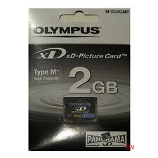 XD 2GB Karte Olympus Picture Card Typ M+ Speicherkarte NEUWARE von Fotohändler