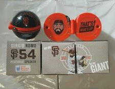 SAN FRANCISCO GIANTS 2016 SERGIO ROMO PORTABLE SPEAKER SGA BRAND NEW IN BOX