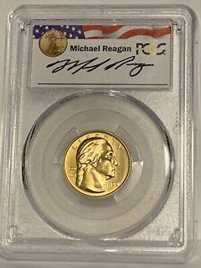 1999-W $5 George Washington Gold PCGSMS70 - Reagan Legacy Series -