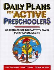 Daily Plans for Active Preschoolers-ExLibrary