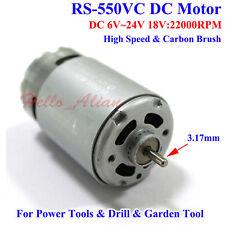 DC6V-24V 12V 18V 22000RPM High Speed Mabuchi RS-550VC Motor Electric Drill Tools