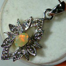 Pendentif opale welo pierre éthiopienne naturelle ethiopian wello opal pendant